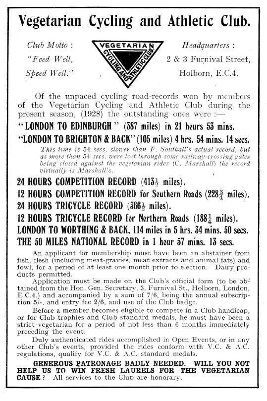 VC&AC Advert from 1928