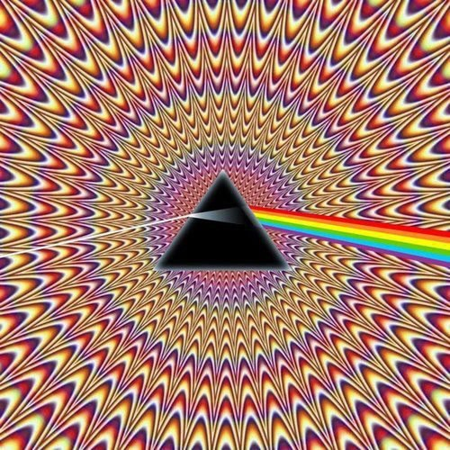 Wobbly Image of a Prism