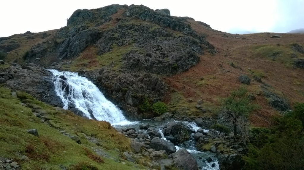 Sour Milk Gill waterfall